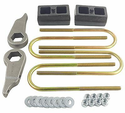 "Lift Kit Forged Torsion Keys & 2"" Cast Steel Blocks Fits 1998-11 Ford Ranger 4x4"
