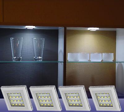 LED Küchen- Unterbauleuchten Schranklicht Spot Alu Vitrinenleuchte Art.2115/16