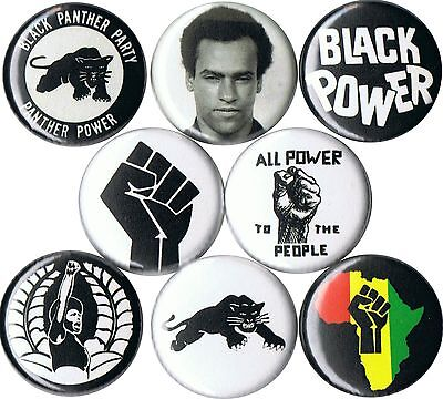 """Black Panther Party 1"""" buttons pins badges pinback button huey newton political"""