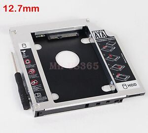 for Asus G73Jh G73Jw G73Sw G74 2nd HDD SSD Hard Drive Disk Caddy Adapter Bay