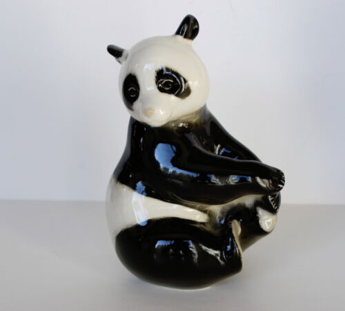 Lomonosov PORCELAIN Figurine BEAR PANDA.Simply perfect