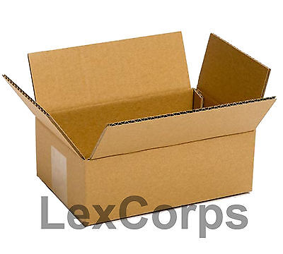 25 Qty 8x6x4 Shipping Boxes Lc Mailing Moving Cardboard Storage Packing
