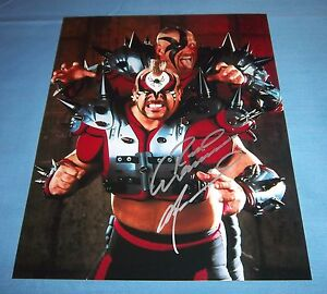Road-Warrior-Animal-Joe-Laurinaitis-Signed-Autographed-8x10-Photo-WWF-A