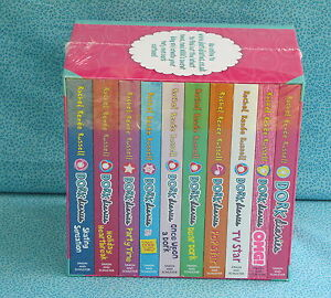 DORK DIARIES COLLECTION - RACHEL RENEE RUSSELL 10 BOOKS - NEW & SEALED PARTY TV