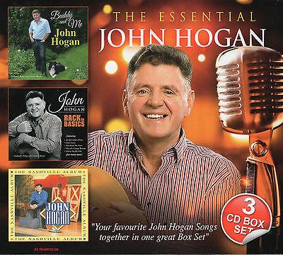 John Hogan - The Essential 3CD Set  - New & Sealed