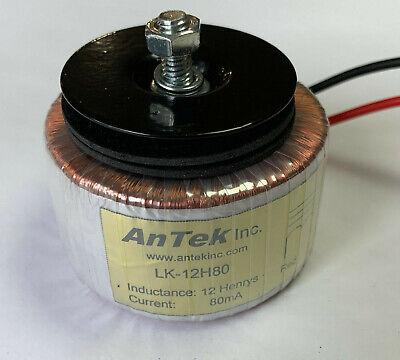 Antek Tube Amp Toroidal Power Supply Choke Filter Choke 12h 80ma Lk-12h80