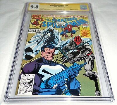 Amazing Spider-Man #355 CGC SS Signature 9.8 STAN LEE Moon Knight Punisher Nova