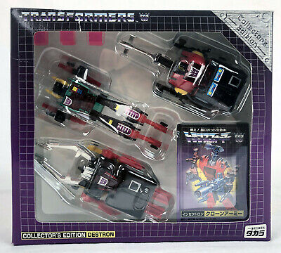 Transformers Takara E-Hobby Incecticons Clone Army Complete in Box