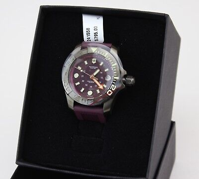 Victorinox Swiss Army Men's 241558 Purple Rubber Swiss Quart