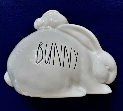"Rae Dunn by Magenta ""Bunny"" Verbiage Ceramic Decor, NWOT"
