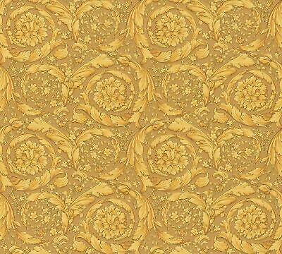 Versace Home Wallpaper Ornament beige gold Metallic 935833 (9,98£/1qm)