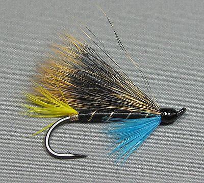 V Fly Size 1 Ultimate Conehead Super Pacific Salmon Steelhead /& Sea Trout Flies