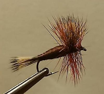 1 Dozen size #12 Rough Olive Dry Fly FREE shipping All Additional items!