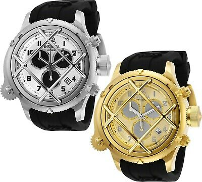 Invicta Men's Watch Russian Diver Nautilus Cage Swiss Movt 52MM Case 200M W/R