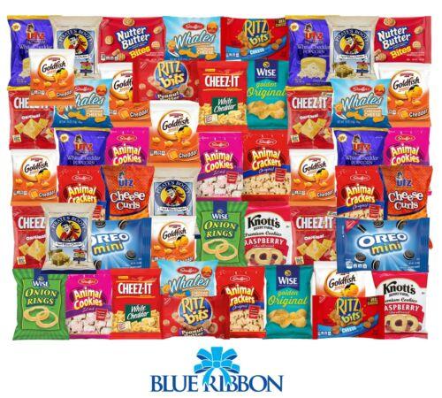 Care Package 60 Count Snack Sampler Gift Basket