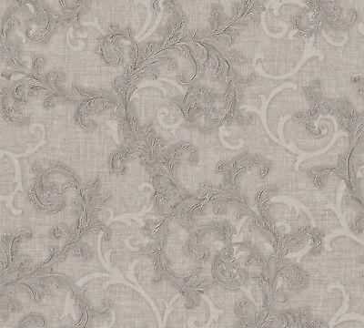 Versace 2 Home Wallpaper 962311 Braun Ornament Fleece Wallpaper System Solution