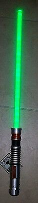 New Disney Parks Luke Skywalker Green Lightsaber W Lights & Sounds 2