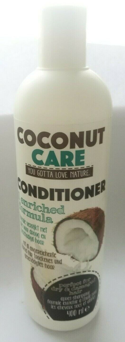 Conditioner Locken Pflege Natural  Haar 400ml Feuchtigkeit Kokosnussöl Spülung