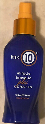 Its A 10  Miracle Leave In plus keratin 4