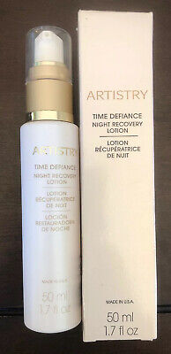 Artistry Time Defiance Night Recovery Lotion