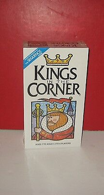 1996 Jax Games Kings In The Corner Card Game