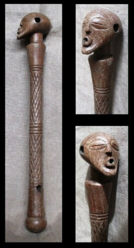 Old SONGYE short Stick of Command Charm - Belgian CONGO - late 1800 / early 1900