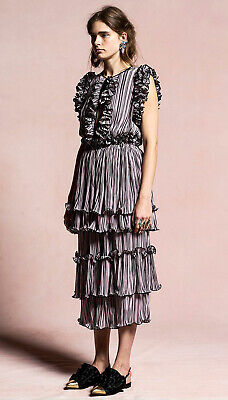 Romance was Born Long Dress Pleated Ruffles Lilac Purple Formal Party Cocktail