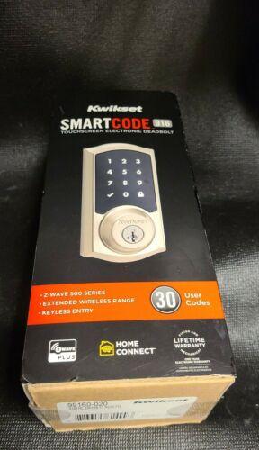 Kwikset 99160-020 SmartCode 916 Z-Wave Plus Touchscreen Dead