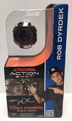 Jakks Pacific Action Shot All-In-One Digital Video Camera Rob Dyrdek New
