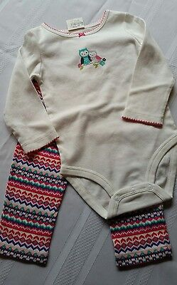 Carter's 2-piece bodysuit and pant set 18 month