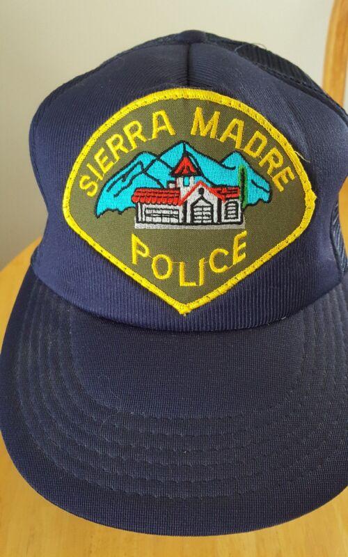 Sierra Madre Police Hat Cap SnapBack Truckers