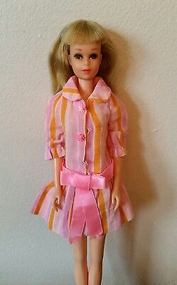 Vintage Mattel TNT Francie doll Blonde bendable legs