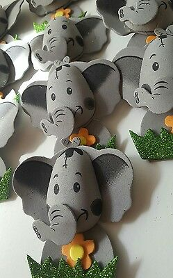 Baby Boy Elephant Baby Shower Decorations (10pcs  4
