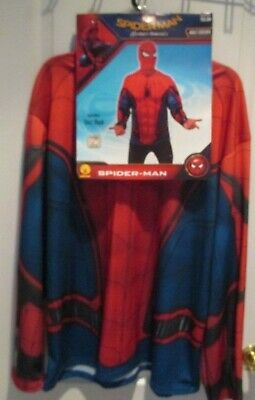 Rubies Spider-Man Homecoming Adult Shirt & Mask Costume-XL 44-46 Halloween NEW