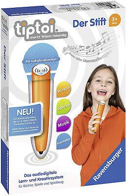 Ravensburger 00801 tiptoi Der Stift mit Aufnahmefunktion für tiptoi CREATE
