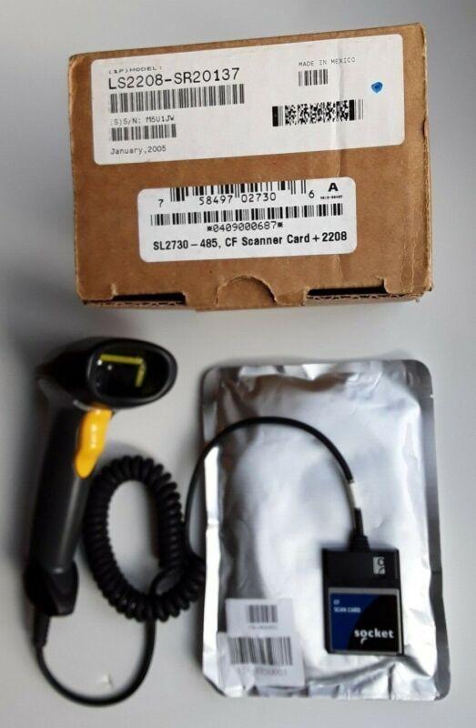 NEW Socket CF Laser Scanner 2208 System (LS2208-SR20137)