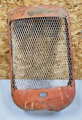 Vintage Rustic Old Tractor Front Grilleallis Chalmers Partupcycle Farm Decor