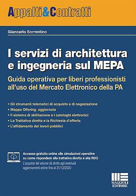 I servizi di architettura e ingegneria sul MEPA - Sorrentino Giancarlo
