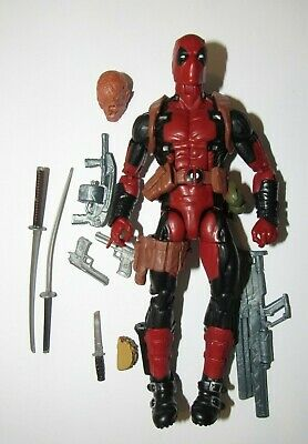 "Marvel Legends 6"" scale figure Deadpool Juggernaut series loose excellent"