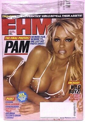 PAM ANDERSON - FHM Magazine  MAY 2004 - BRAND NEW - FACTORY SEALED