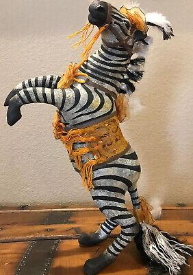 Bethany Lowe Vergie Lightfoot Halloween Zebra—Retired 2013