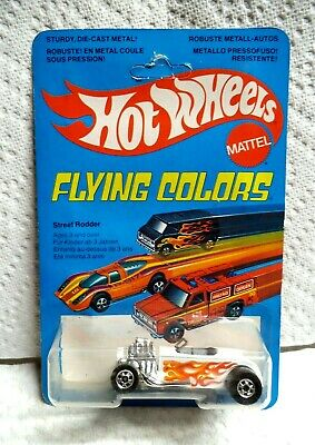 Hot Wheels Street Rodder Foreign Flying Colors Unpunched Card Protecto HK Base