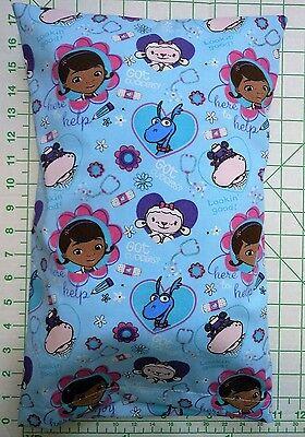 "Doc McStuffins ""Got cuddles?"" Small Pillow Case with Travel / Toddler Pillow"