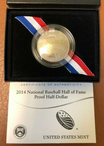 2014 National Baseball Hall of Fame Half Dollar Proof
