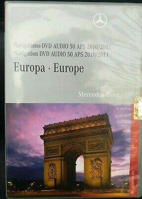 MERCEDES DVD Audio 50 APS 2011 EUROPA // C + GLK Klasse  korallenrot A2048277359