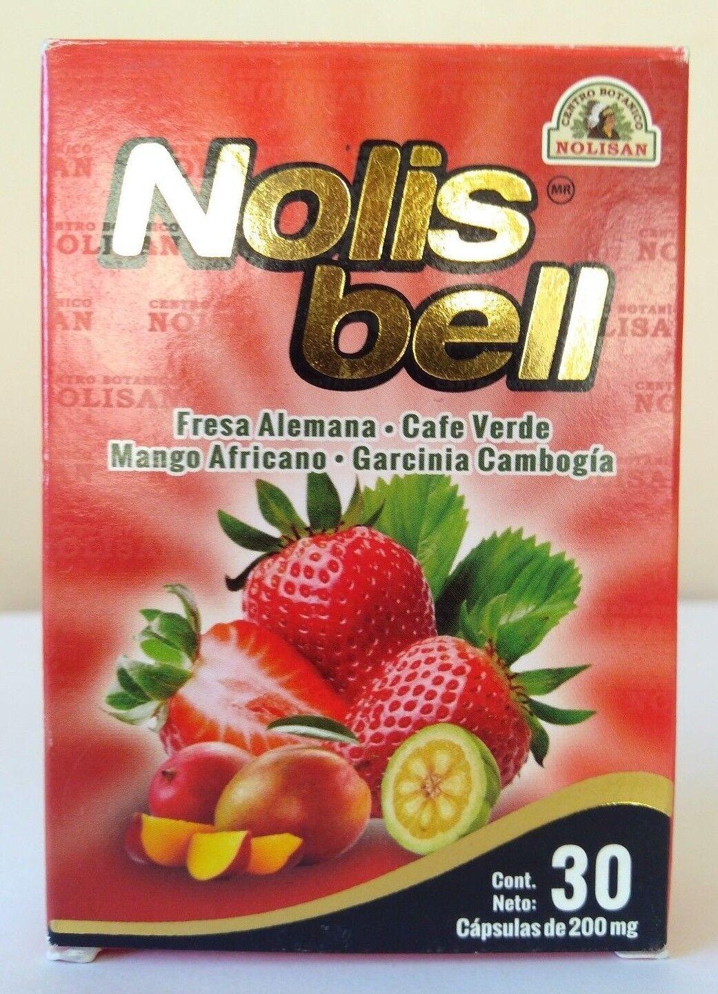 MANGO AFRICANO NOLIS BELL AFRICAN MANGO 30 CAPSULES GARCINIA CAMBOGIA 30 CAPS