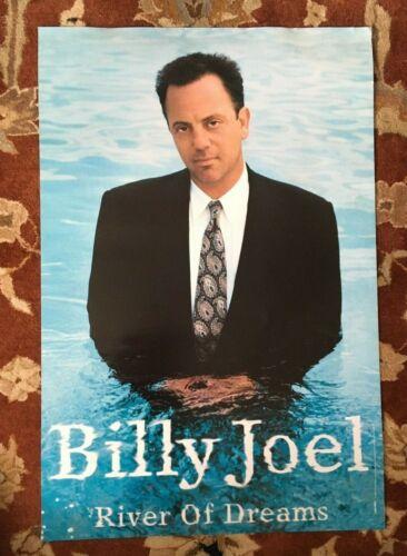 BILLY JOEL  River Of Dreams  rare original promotional poster