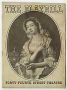 Vintage Theatre Playbills