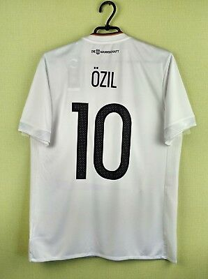 1ba05734f Germany jersey shirt  10 Ozil 2016 2017 Home official adidas football size M