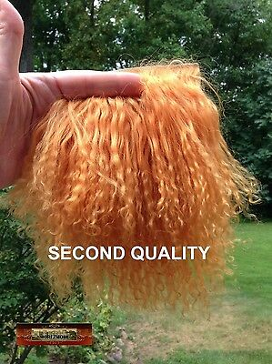 M00311 MOREZMORE Hair Tibetan Lamb Seconds BUCKSKIN GINGER Doll Baby Hair T20